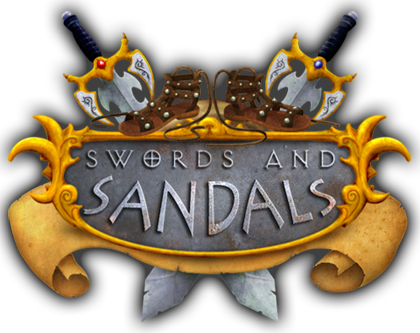 Swords and Sandals Classic Collection logo