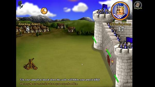 Swords and Sandals Crusader Screenshot