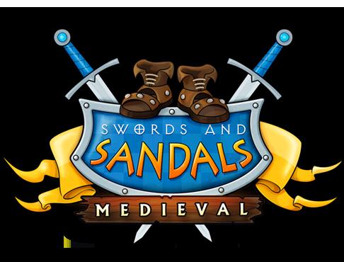 Swords and Sandals Medieval Logo