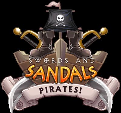 Swords and Sandals Pirates Logo