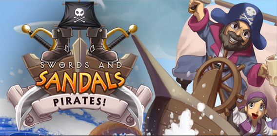 Swords and Sandals Pirates Logo