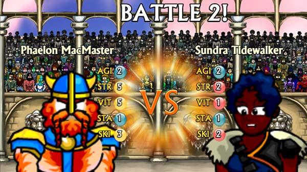 Swords and Sandals Champion Sprint Screenshot