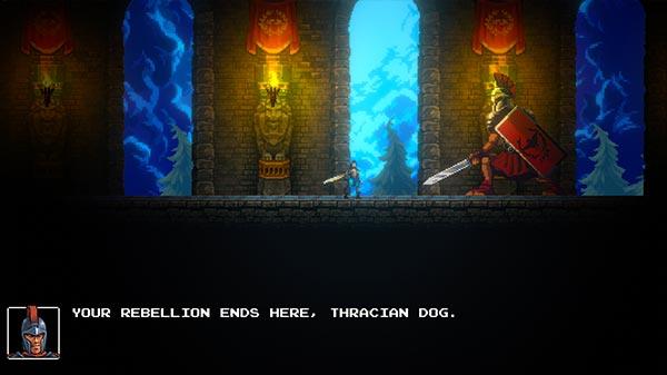 Swords and Sandals Spartacus Screenshot